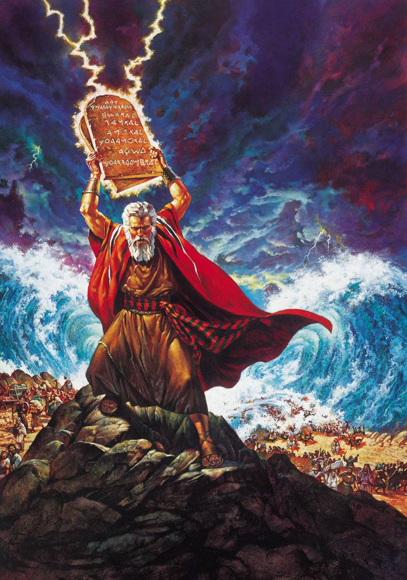 moses breaking-tablets