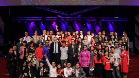 Hội thánh Moscow vui Xuân mới với 13 người tin nhận Chúa!