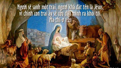Chúa giáng sinh ở trong bạn